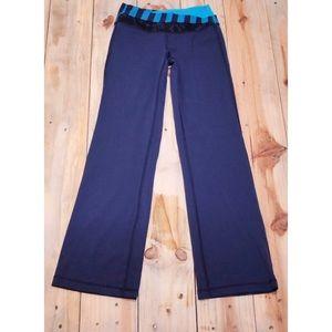 Like New Lululemon Blue Yoga Pants Size 4